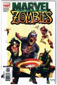 MARVEL ZOMBIES #2, NM, Thor, Arthur Suydam, 1st Print, 2006, more MZ in store