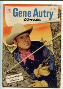 GENE AUTRY #57-1951-DELL-WESTERN-PHOTO COVERS-MOVIE-TV-good/vg