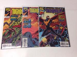 Nighthawk 1-3 Complete Near Mint Lot Set Run