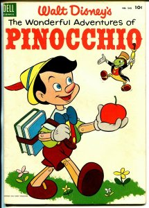 Wonderful Adventures of Pinocchio-Four Color Comics #545 1953-Dell-Disney-VF-