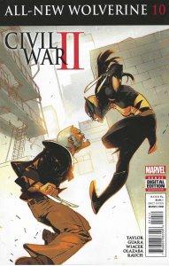 Civil War II - All-New Wolverine #10 (9-2016)