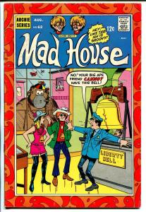 Archie's Mad House #62-1968-flying saucer-Tarzan parody-FN