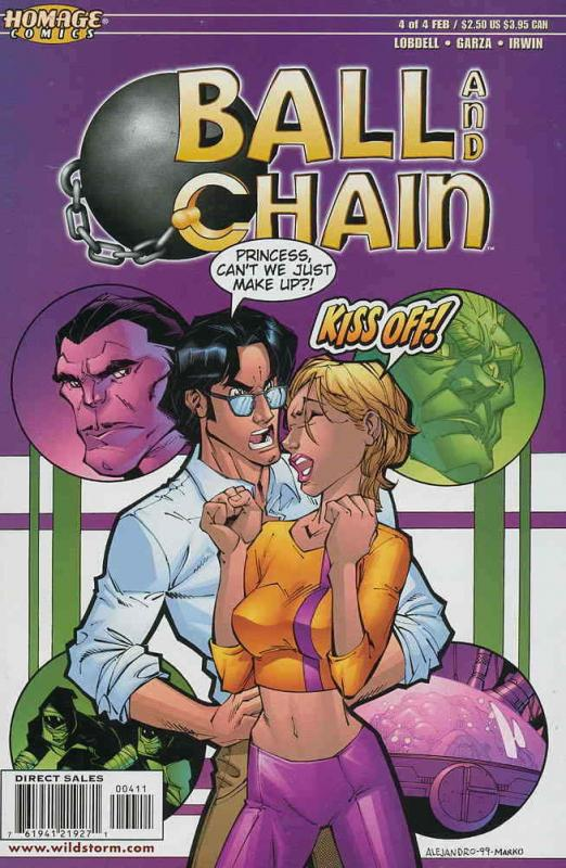 Ball and Chain #4 VF/NM; Homage | save on shipping - details inside