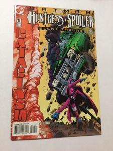 Batman Huntress Spoiler Blunt Trauma 1 NM Near Mint