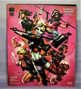 Harley Quinn and the Birds of Prey #3 Ian McDonald Variant Cover (DC, 2020)!