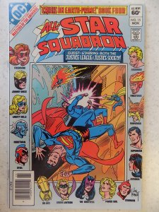 ALL STAR SQUADRON # 15 JUSTICE SOCIETY OF AMERICA KUBERT