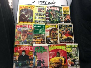 HOUSE OF HAMMER collection 11 diff 1970S HORROR Classics, Comic Adapt