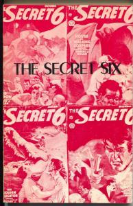 Pulp Classics #17 1977-Secret Six pulp stories reprinted-limited printing-VF