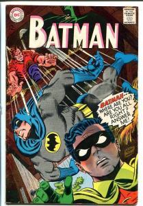 BATMAN #196-1967-DC - Silver Age - L@@k! FN