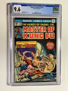 Shang-chi master of kung fu 30 cgc 9.6 ow/w pages marvel bronze age 022