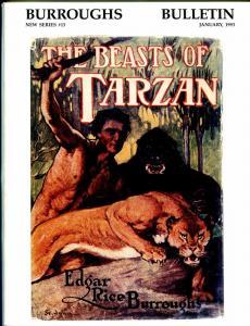 Burroughs Bulletin New Series #13 1992-ERB-Tarzan-J.A.St. John-F.W. Small-VF