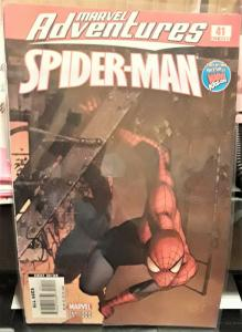MARVEL COMICS-SPIDERMAN-MARVEL ADVENTURES-#41-DATED:2008-GREAT FOR COLLECTOR'S