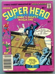 Archie's Super Hero Digest #2 1979- Jack Kirby Neal Adams Black Hood