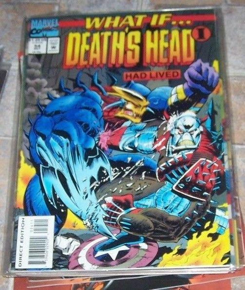 What If...? #56 (Dec 1993, Marvel) DEATHS HEAD I...HAD LIVED ?