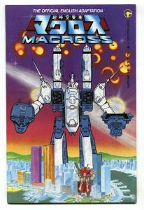Macross #1 1984-Comico-1st ROBOTECH  issue-glossy cover-VF+