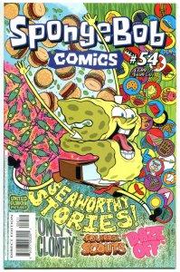 SPONGEBOB #54, NM, Square pants, Bongo, Cartoon comic, 2011, more in store