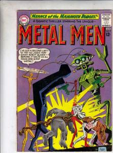 Metal Men #5 (Jan-64) VG/FN- Mid-Grade Metal Men (Led, Tina, Tin, Gold, Mercu...
