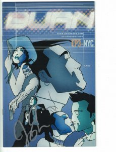 Burn #1 FN signed by Jerry Ma - Digital Webbing/Epic Proportions 2002