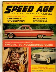 Speed Age 1958, Rod & Custom 1965 Quinn TPB Magazines J342