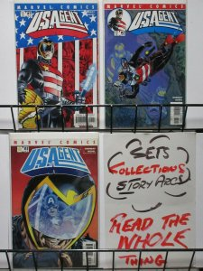 US AGENT (2001) 1-3  Captain America  COMPLETE!