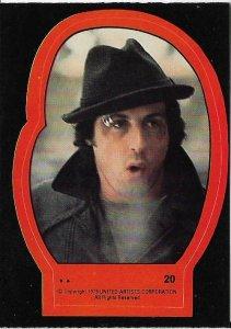 1979 Topps Rocky II Sticker #20 Rocky Balboa > Stallone > Italian Stallion