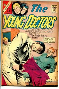 Young Doctors #6 1966-Charlton-medical thrills-VG