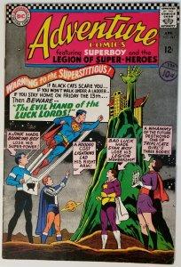 Adventure Comics #343 (1966)(newstand stamp)
