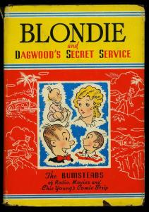 Blondie and Dagwood's Secret Service w/ dust jacket Whitman #2374