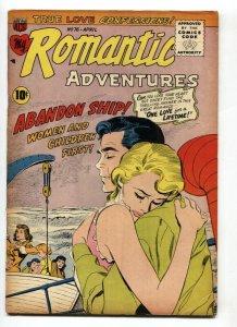 My Romantic Adventures #76 1957-Shipwrek-comic book