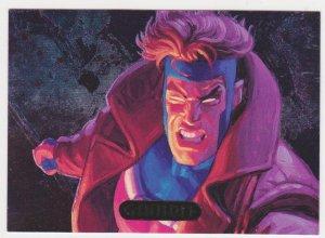 1995 Flair Marvel Annual Powerblast Card #5 Gambit