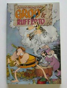 Groo & Rufferto TPB Softcover VF+ Dark Hose 1st Print 2000 Sergio Aragone's