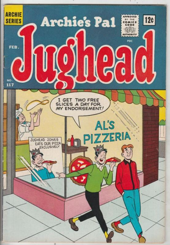 Jughead, Archie's Pal #117 (Feb-65) VF High-Grade Archie, Betty, Veronica, Re...