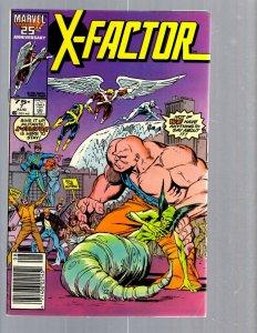 12 Marvel Comics X-Factor #7 8 15 23 33 34 37 38 40 41 47 48 J420