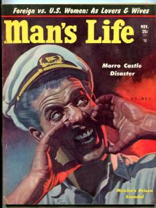 Man's Life Magazine November 1953-MEXICAN PRISONS-COCO PLANT/DRUGS-WW2 FN
