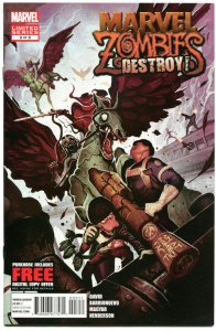 MARVEL ZOMBIES DESTROY #3, VF+, Peter David, Horror, 2012, more MZ in store