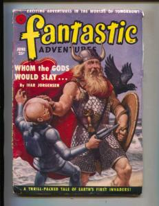 Fantastic Adventures-Pulp-6/1951--Ivar Jorgensen-Alfred Coppel