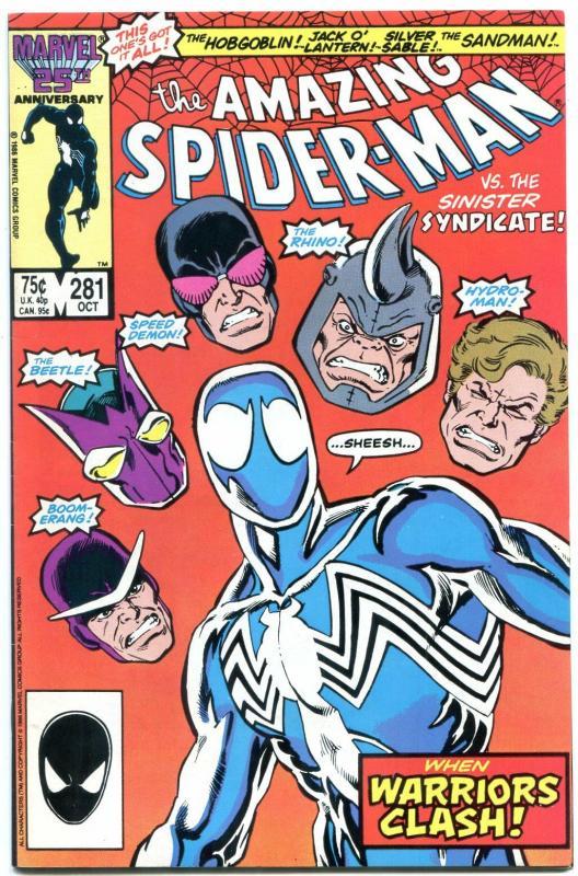 AMAZING SPIDER-MAN #281-MARVEL COMICS --VF