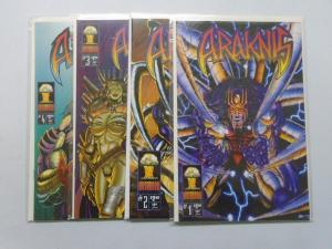 Araknis Comics Books Mushroom Set of 1-4 ( 1995 ) 8.0 VF