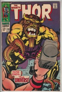 Thor, the Mighty #155 (Aug-68) FN/VF- Mid-High-Grade Thor
