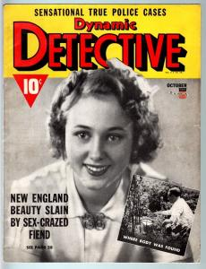 DYNAMIC DETECTIVE-1941 OCT-PULP TRUE CRIME-SEX CRAZED FIEND!!!-FN FN