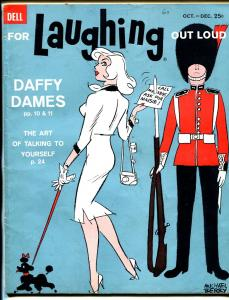 For Laughing Out Loud #17 10/1960-Dell-Berry-wacky cartoons-jokes-GGA-VG+