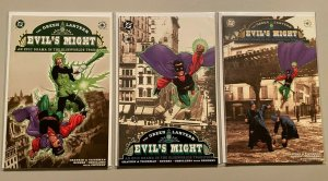 Green Lantern Evil's Might set from:#1-3 all 3 different 6.0 FN (2002)