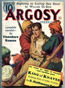 Argosy Pulp May 11 1940- Belarski cover- King of Knaves- Theodore Roscoe FN