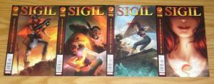 Sigil vol. 2 #1-4 FN/VF complete series - mike carey - marvel/crossgen 2 3 set