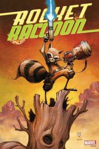 Rocket Raccoon #1 By Skottie Young Poster 2014 - Marvel