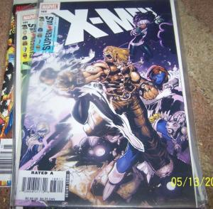 X MEN  # 188 marvel 2008 SUPERNOVAS pt 1+SABERTOOTH ROGUE mistique