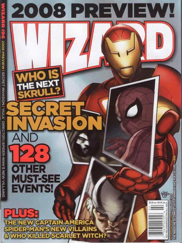 Wizard: The Comics Magazine #196A VG; Wizard | low grade comic - save on shippin