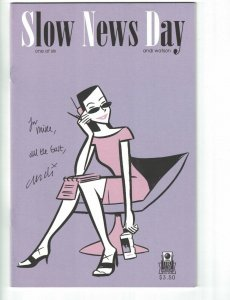 Slow News Day #1 VF/NM signed by Andi Watson - Slave Labor Graphics