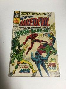 Daredevil King-Sized Annual 1 Vf- Very Fine- 7.5 Marvel Comics Silver Age