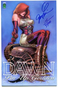 DAWN PIN-UP GODDESS #1, NM+, Signed by Joseph Linsner, Limited, Numbered, #109